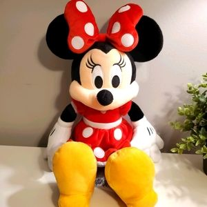 Disney's Minnie Mouse plush from The Disney Store